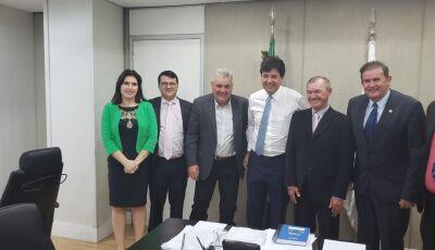Marquinhos do Dedé agradece Senadora Simone Tebet e Deputado Eduardo Rocha, por agendas em Brasília