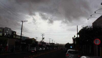 Defesa Civil emite alerta de tempestade com granizo para todos os municípios de Mato Grosso do Sul