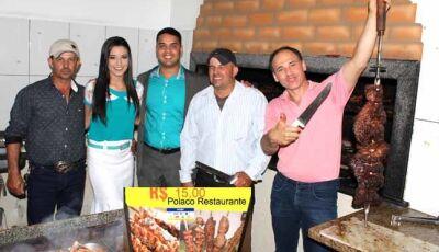 O melhor churrasquinho é no Polaco Restaurante em Fátima do Sul