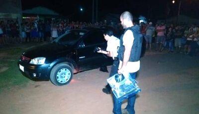 Mulher é morta atropelada pelo namorado após discussão por ciúmes dentro do carro em Caarapó