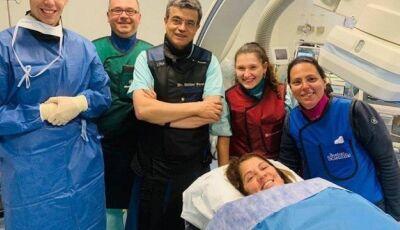 Aos 58 anos, atriz Tássia Camargo sofre infarto e está na UTI de Hospital em Portugal