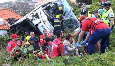 Tragédia mata pelo menos 29 pessoas em acidente de ônibus na Ilha da Madeira