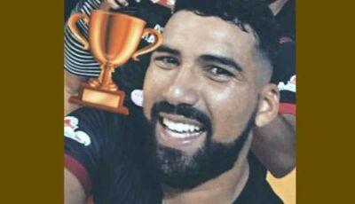 Ex-jogador do Águia morre em acidente de moto em Rio Brilhante (vídeo)