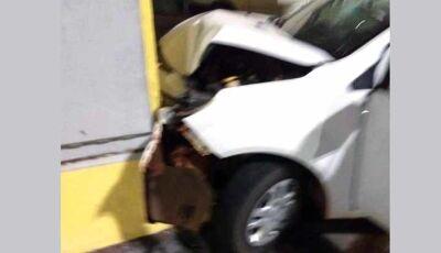 IVINHEMA: Motorista perde o controle de veículo e bate em farmácia