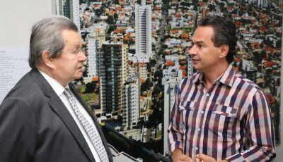 Onevan apresenta pleitos de projeto social 'Guerreiros do Amanhã' ao prefeito Marquinhos Trad