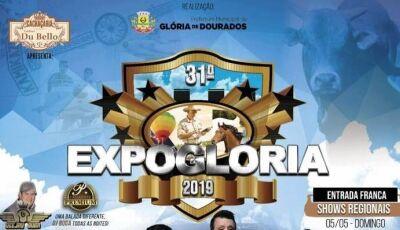 31ª Expoglória terá Eduardo Costa abrindo festejos, confira a programação em Glória de Dourados