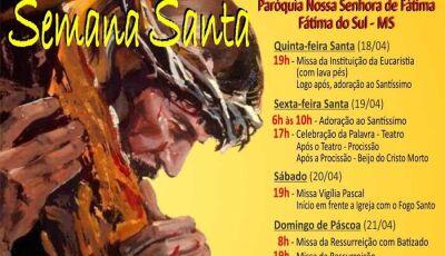 Comunidade Católica celebra a Semana Santa em Fátima do Sul