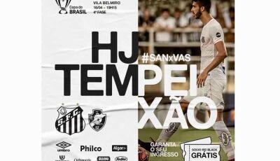 Santos quer aproveitar instabilidade e cansaço do Vasco para abrir vantagem