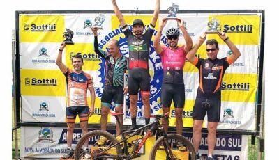 Fátimassulense Fábio Marambaia volta a brilhar no Ciclismo em Nova Alvorada do Sul