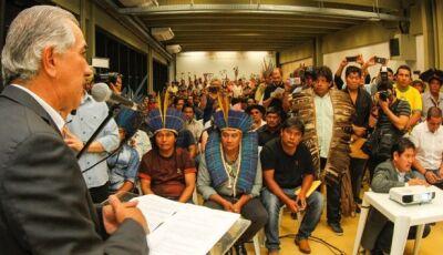 Em quatro anos,Governo promove ações e executa programas que garantem cidadania aos índios de MS
