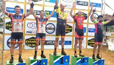 Fábio Marambaia de Fátima do Sul é 2º lugar na 1º Etapa Estadual de MTB Xc/Xco