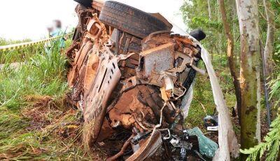 IVINHEMA: Grave acidente mata uma pessoa na MS-276