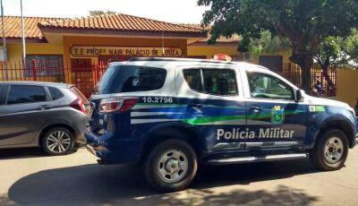Nova Andradina – Escola Nair Palácio é evacuada após ameaça de atentado