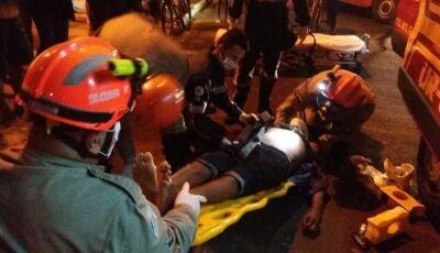 Ciclista vítima de acidente morre no Hospital Regional de Nova Andradina