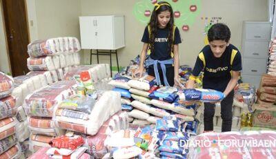 Gincana de Páscoa do Objetivo arrecada quase 6 toneladas de alimentos para famílias carentes