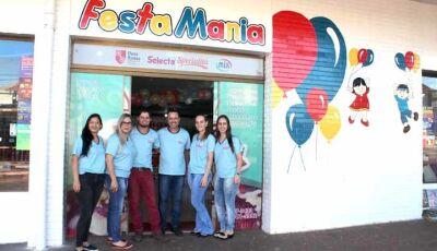Festa Mania  de Fátima do Sul festeja a Páscoa com prêmios instantâneos para os clientes