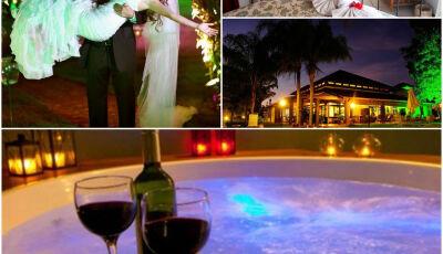 Vai casar?, então conheça os Pacotes 'Lua de Mel' do Hotel Águas de Bonito