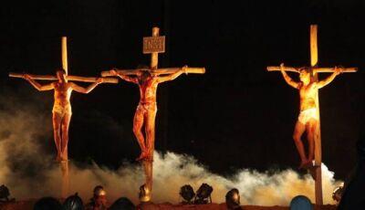 Glória de Dourados apresenta nesta quinta e sexta a 15ª Edição da Paixão de Cristo