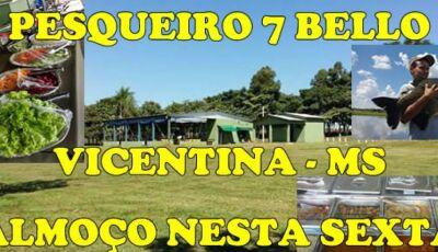 Almoço terá 'bacalhau' nesta sexta-feira da 'paixão' no Pesqueiro 7 Bello em Vicentina