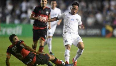 Video Melhores momentos da vitória do Santos sobre o Atlético Goioaniense