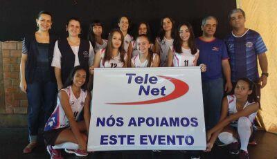 Vicente Pallotti agradece e parabeniza atletas de Voleibol Feminino nos Jogos Escolares da Juventude