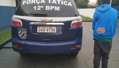 PM prende jovem que sequestrou o próprio filho em Angélica