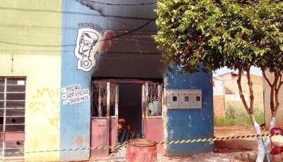 ANGÉLICA: Incêndio destrói oficina de moto