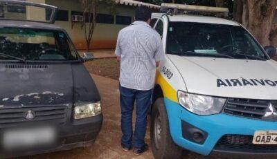 Traficante é preso pela PMR transportando 21 kg de drogas na MS-145 em Deodápolis