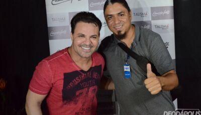 Confira as fotos do Rodeio com camarotes e pista do show do Eduardo Costa em Glória de Dourados