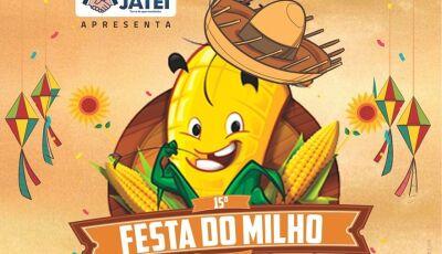 Neste sábado acontece a 15ª Edição da tradicional Festa do Milho em Jateí