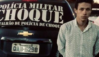Bandidos sequestram homem, pedem R$ 450 mil e Choque resgata vítima