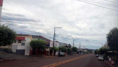 Com alerta de tempestade em Fátima do Sul  e 58 municípios do MS, feriado deve ser de chuva