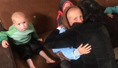 Avô resgata 7 netos da Síria após perder filha e genro para terroristas