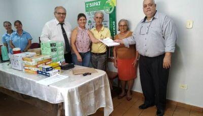 Hospital recebe doação de R$ 70 mil em equipamentos através da Vara do Trabalho de Fátima do Sul