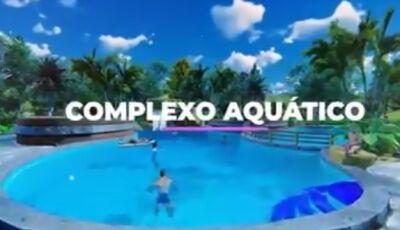 VÍDEO: Olha o quem vem por aí no Campo Belo Resort, em breve um complexo aquático de tirar o fôlego