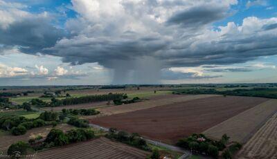 Vicentina e Jateí em alerta, fim de semana será de chuva e queda de temperatura