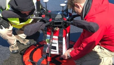 Drone faz 1ª entrega de rim para transplante em 5 minutos. Deu certo!
