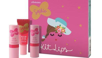 Sophie, linha infantil do Boticário, lança nova fragrância e kit de make repleto de cores e muita fo