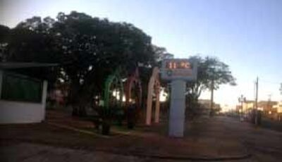 Contrariando as previsões, temperatura marca 11ºC em Fátima do Sul
