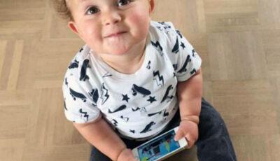 OMS alerta: Criança menor de 3 anos não deve ficar nem um minuto em tablet ou celular