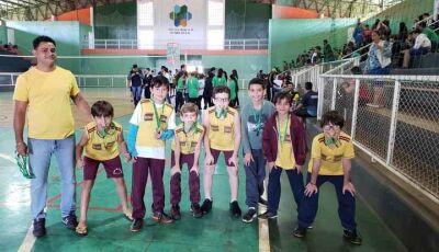 Escola Reino do Saber é campeã nos Jogos Municipais de Fátima do Sul