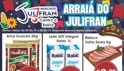 Ô treim bãao sô! Confira as ofertas que vão até sábado no Mercado Julifran em Fátima do Sul