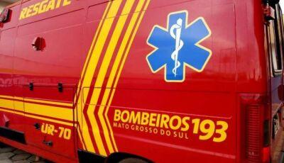 Moradores de Deodápolis sofrem acidente na MS-276 em Ivinhema