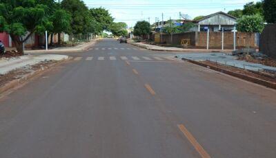 Em Dourados, pedido de Barbosinha garante pavimentação para Rua Natal