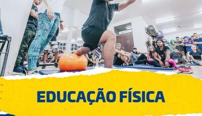 Vestibular de Inverno para Educação Física com inscrições abertas na UNIGRAN em Dourados