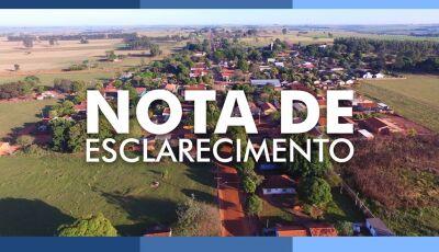 JATEÍ: Prefeitura divulga nota sobre reclamações da falta de sinal de internet em Nova Esperança
