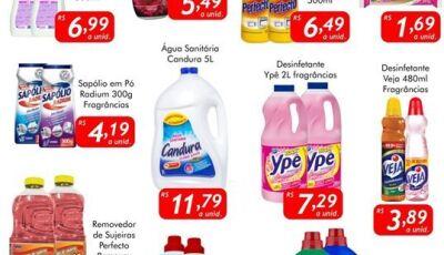 Confira as ofertas da SEGUNDA DA LIMPEZA no Mercado Julifran em FÁTIMA DO SUL