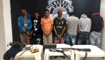 IVINHEMA: PC identifica e prende sete autores procurados pelos crimes de roubo com sequestro