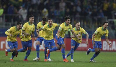 Nos penaltis o Brasil supera o fantasma paraguaio