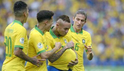 Brasil joga bonito, goleia Peru e se classifica em primeiro, veja os gols